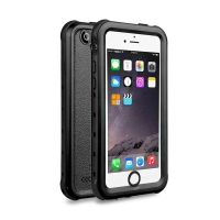 Voděodolné pouzdro Redpepper pro Apple iPhone 5 / 5S / SE s podporou funkce Touch ID + poutko na ruku - černé