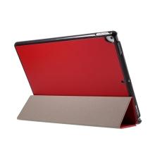 """Pouzdro / kryt pro Apple iPad Pro 12,9"""" / 12,9"""" (2017) - integrovaný stojánek - umělá kůže - červené"""