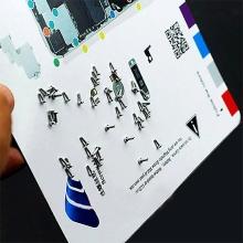 Magnetická podložka pro šroubky Apple iPhone 4 (rozměr 20x20cm)
