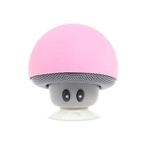 Reproduktor Bluetooth - houba - růžový