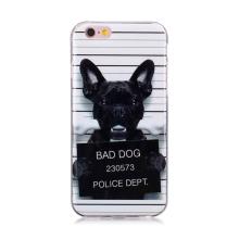 Kryt pro Apple iPhone 6 / 6S - gumový - zlý pes