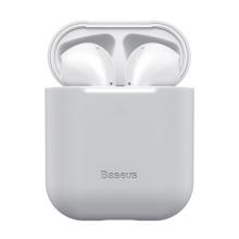 Pouzdro / obal BASEUS pro Apple AirPods - silikonové - šedé