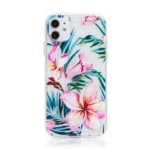 Kryt pro Apple iPhone 11 - květiny - gumový