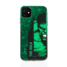 Kryt MARVEL pro Apple iPhone 11 - Hulk - gumový