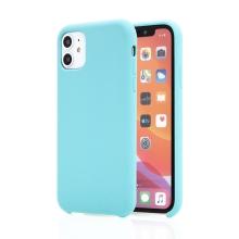 Kryt pro Apple iPhone 11 - příjemný na dotek - silikonový - světle modrý