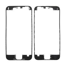 Plastový fixační rámeček pro přední panel (touch screen) Apple iPhone 6 - černý - kvalita A+