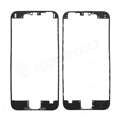 Plastový fixační rámeček pro přední panel (touch screen) Apple iPhone 6 - černý