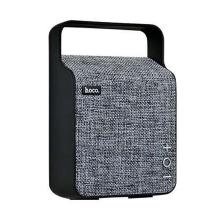Reproduktor HOCO NuoBu - Bluetooth - látkové provedení - šedý / černý