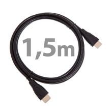 Kabel PREMIUMCORD HDMI-HDMI propojovací - podpora Ethernet - černý - 1,5m