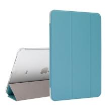 """Pouzdro / kryt pro Apple iPad Pro 11"""" (2018) - funkce chytrého uspání + stojánek - modré / průsvitná záda"""