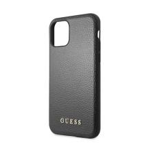 Kryt GUESS IriDescent pro Apple iPhone 11 Pro Max - umělá kůže - černý