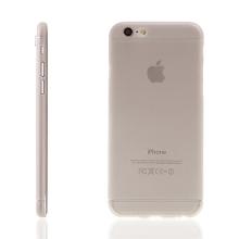 Ultra tenký plastový kryt pro Apple iPhone 6 / 6S - s prvkem pro ochranu skla kamery - šedý