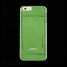 Kryt PORTER pro Apple iPhone 6 / 6S plastový s koženým povrchem