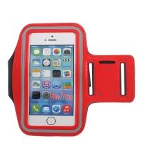 Sportovní pouzdro pro Apple iPhone včetně velikostí Plus a Max - červené
