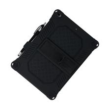 """Kryt / pouzdro pro Apple iPad 10,2"""" / Air 3 - outdoor - odolný - se stojánkem - silikonový - černý"""