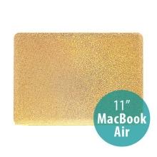 Plastový obal pro Apple MacBook Air 11 - třpytivý povrch - zlatý