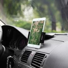 Univerzální 360° otočný držák na palubní desku auta s přísavkou BASEUS Batman Series pro Apple iPad a další tablety - černý