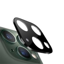 Tvrzené sklo (Tempered Glass) pro Apple iPhone 11 Pro / 11 Pro Max - na čočku fotoaparátu - kovový rámeček