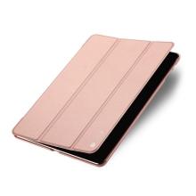 Pouzdro / kryt DUX DUCIS pro Apple iPad Air 1 / Air 2 / 9,7 (2017-2018) - funkce chytrého uspání + stojánek - Rose Gold