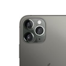 Tvrzené sklo (Tempered Glass) + hliníkový kroužek pro Apple iPhone 12 / 12 mini - na čočku kamery