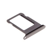 Rámeček / šuplík na Nano SIM pro Apple iPhone X - černý (Black) - kvalita A+
