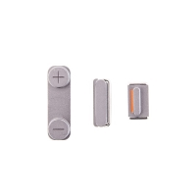 Sada postranních tlačítek / tlačítka pro Apple iPhone 5 / 5S / SE (Power + Volume + Mute) - vesmírně šedá (Space Gray) - kvalita A+