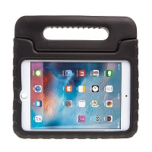 Pěnové pouzdro pro děti na Apple iPad mini 4 s rukojetí / stojánkem - černé