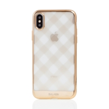 Kryt SULADA pro Apple iPhone X / Xs - gumový - průhledný