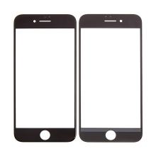 Přední sklo pro Apple iPhone 7 - černé - kvalita A