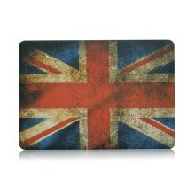 "Obal / kryt pro Apple MacBook Air / Air M1 (2018-2021) 13"" (A1932, A2179, A2337) - plastový - retro vlajka GB"