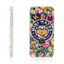 Kryt LOFTER mini mates pro Apple iPhone 6 / 6S - gumový - barevný