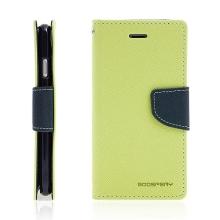 Pouzdro Mercury Fancy Diary pro Apple iPhone 7 / 8 - stojánek a prostor na doklady - zelené / modré