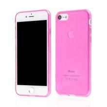 Kryt pro Apple iPhone 7 / 8 / SE (2020) - gumový tenký ochranný - růžový