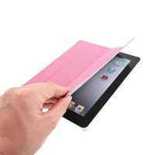 Ochranné pouzdro pro Apple iPad 2. / 3. / 4.gen. - pouzdro + stojan + Smart Cover - růžové