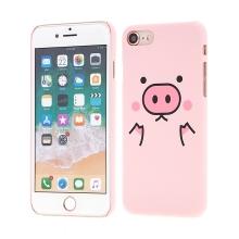 Kryt pro Apple iPhone 7 / 8 - gumový - růžové prasátko