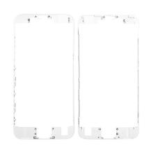 Plastový fixační rámeček pro přední panel (touch screen) Apple iPhone 6S - bílý - kvalita A