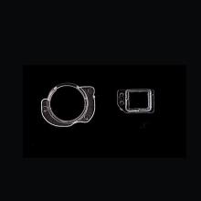 Vymezovací kroužek přední kamery + díl k uložení proximity senzoru pro Apple iPhone 6 - kvalita A+