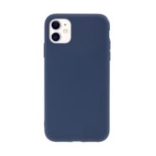 Kryt pro Apple iPhone 11 - gumový - tmavě modrý