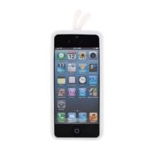 Ochranný silikonový kryt bílé kuře pro Apple iPhone 5 / 5S / SE