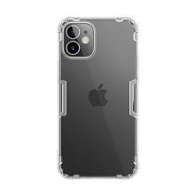 Kryt NILLKIN Nature pro Apple iPhone 12 mini - gumový - průhledný