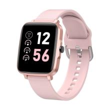 Fitness chytré hodinky LEMONDA F2 - tlakoměr / krokoměr / měřič tepu - Bluetooth - růžové