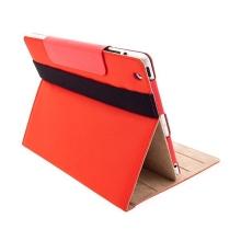 Ochranné pouzdro pro Apple iPad 2 s popruhem – červené