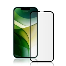 Tvrzené sklo (Tempered Glass) AMORUS pro Apple iPhone 13 Pro Max - černý rámeček - 2,5D - 0,26mm