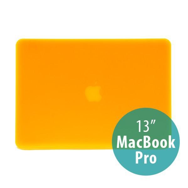 Tenký ochranný plastový obal pro Apple MacBook Pro 13 (model A1278) - matný - oranžový