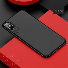 Kryt USAMS Jay pro Apple iPhone X - plastový - černý