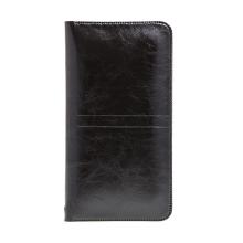 Pouzdro / obal SOYAN pro Apple iPhone - umělá kůže - černé
