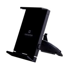 Držák do auta SWISSTEN T1-CD1 pro Apple iPhone / iPad - do CD mechaniky - univerzální - černý