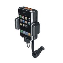 Držák do auta pro iPhone / iPod s nabíječkou a FM vysílačem