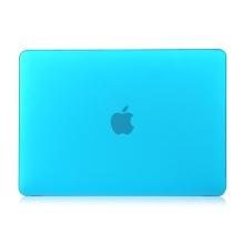 "Obal / kryt pro MacBook Air 2018 13.3"" (A1932) - plastový - modrý"