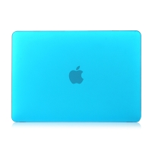 "Obal / kryt pro MacBook Air / Air M1 (2018-2021) 13"" (A1932, A2179, A2337) - plastový - modrý"